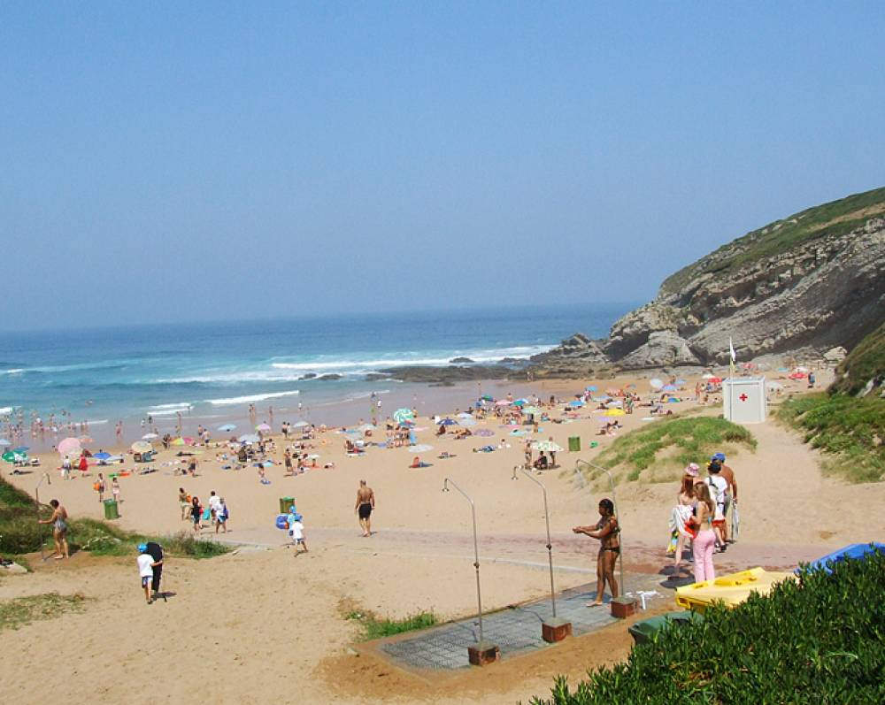 Playa El Sable en Tagle - Suances_47