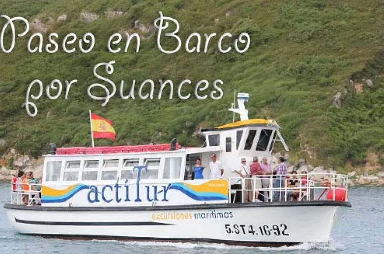 Boat trip through Suances-7