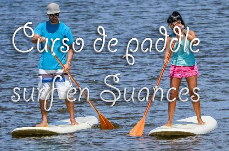 Paddle surf course in Suances-2